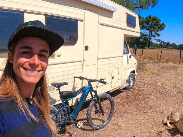 La solution d'Olivia pour transporter son vélo n'importe où !