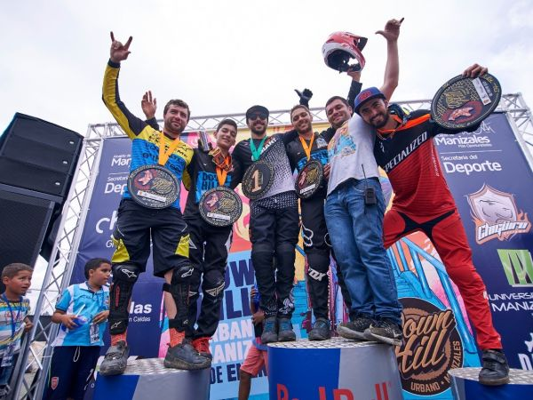 Gutierrez Extends Win Streak at Manizales Urban DH!