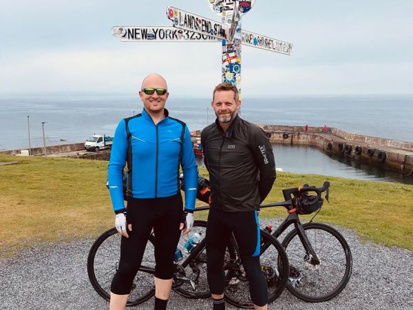 Ian Beasant completes 32 Day Challenge