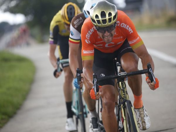 Van Avermaet Sprints to Podium at B...