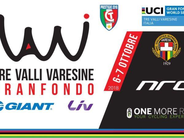 GIANT e LIV sponsor della 3° Gran Fondo Tre Valli Varesine UCI WORLD S...