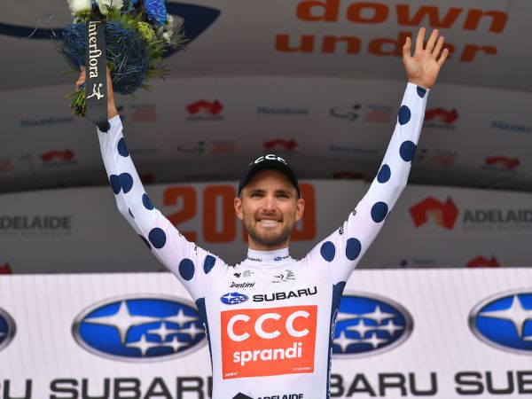 Rosskopf Takes KOM Lead at Tour Dow...