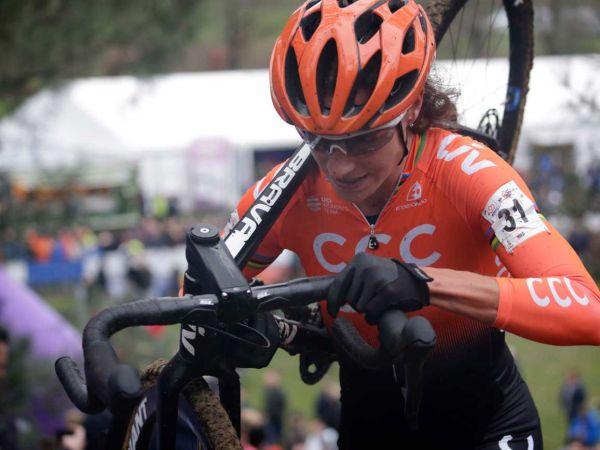 Vos ve van der Heijden Hollanda CX Ulusal Şampiyonası'nda Podyum gördü...