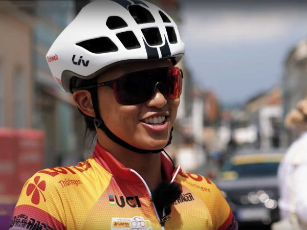 Coryn Rivera Second at Lotto Thüringen Stage 2!