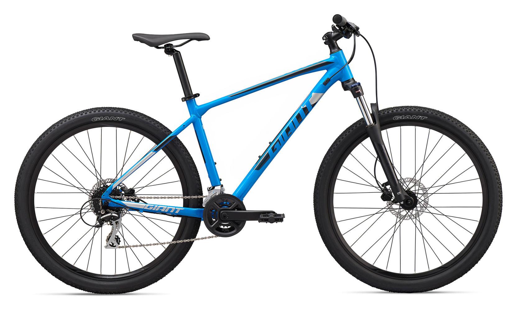 giant atx blue mountain bike