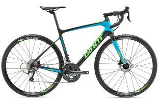 Matte Carbon / Blue / Neon Green