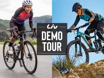 Liv Women's Demo at Spider Mountain Bike Park