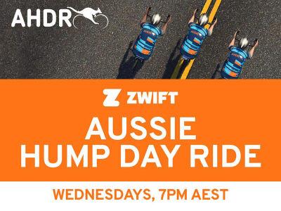 Zwift Aussie Hump Day Ride