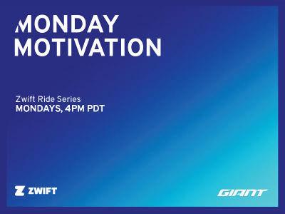 GIANT MONDAY MOTIVATION RIDE SERIES