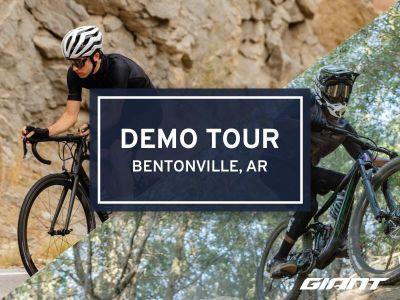 #RideGiantDemo at Outerbike Bentonville