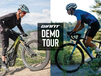 Ride Life Ride Giant Demo at Newbury Park Bike Shop