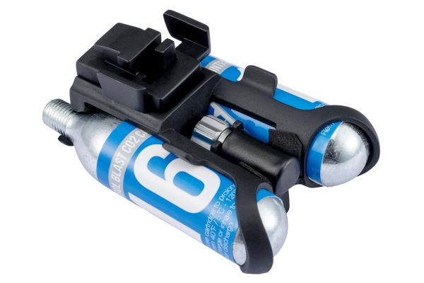 Uniclip Patch Kit Sattelhalterung inkl. CO2 Pumpe und 2 Kartuschen