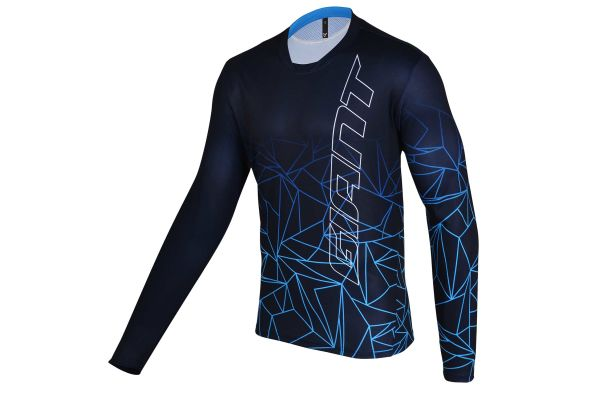 Maillot Manches Longues Trail Cobalt