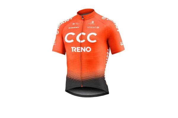 Maillot Manches Courtes Team CCC Etxeondo