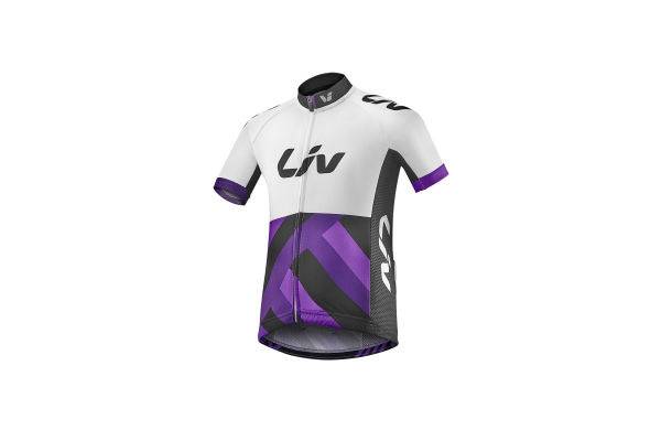 Liv Race Day Kids Short Sleeve Jersey