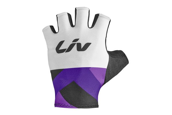 Race Day Womens Short Finger Gloves