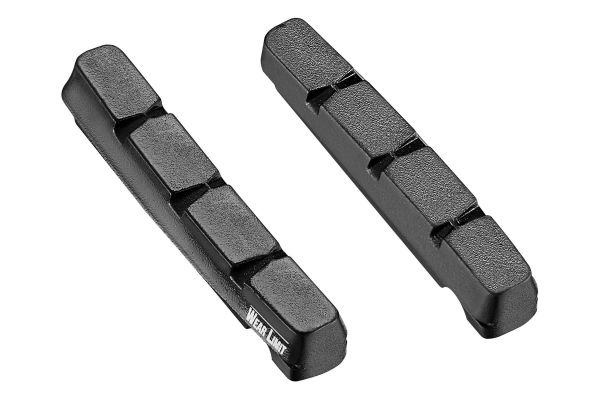Single Compound Cartridge Road Brake Pad Inserts
