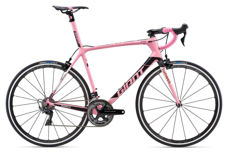 Tcr Advanced Sl Maglia Rosa 2018 Men Race Bike Giant Bicycles Australia