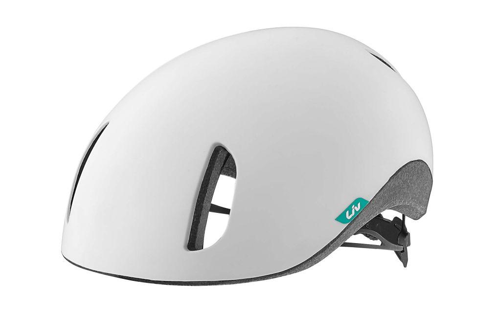Liv Civita Womens Urban Commuting Cycling Helmet White Liv Cycling Colombia
