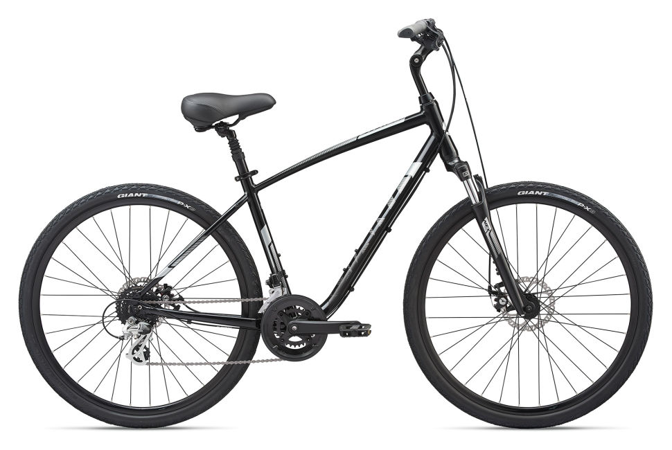 NEW Giant Luxe 1 Women/'s Comfort Saddle Black Cruiser Hybrid Casual Bicycle