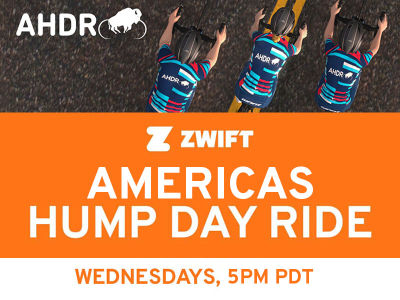 Zwift Americas Hump Day Ride