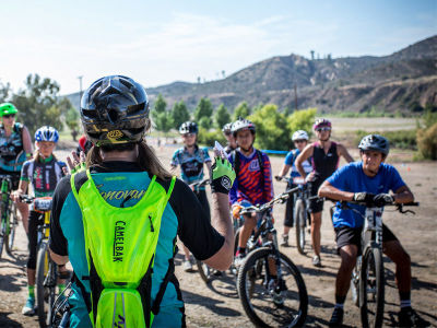 LivPre-Race Ride Clinic with Leigh Donovan @Over The Hump Race Series
