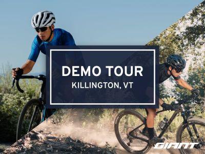 #RideGiantDemo at Outerbike Killington