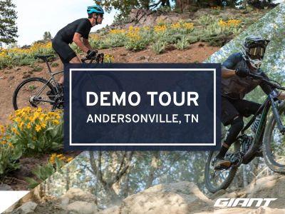 #RideGiantDemo at Loyston Point Trails