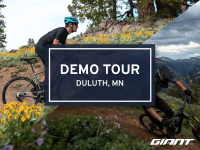 #RideGiantDemo at Outerbike Duluth