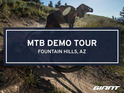 #RideGiantDemo MTB at McDowell Mountain Park
