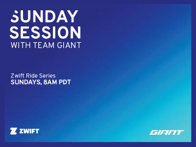 SUNDAY SESSION WITH TEAM GIANT