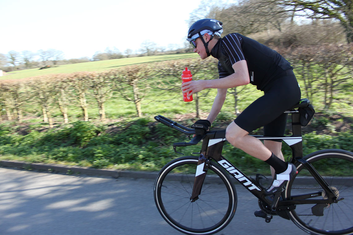 Tom Davis Fuelling Strategy on bike