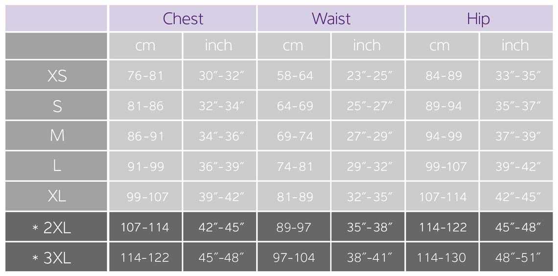 Women S Cycling Clothing Size Guide Liv Cycling Official Site
