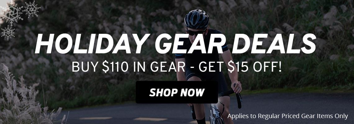Giant Gear Deals. Buy $110 in Regular Priced Gear - Get $15 Off!