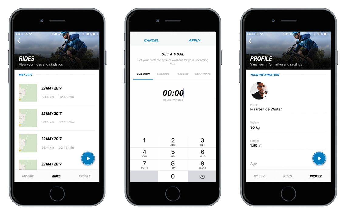 Hybrid Cycling Technology Giant RideControl App | Giant Bicycles